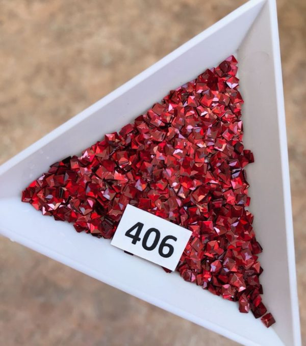 3Д-квадраты, 406 красные (бл)