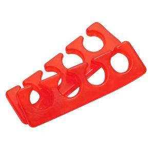 Разделители силиконовые (1 пара), красные