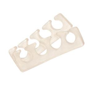 Разделители силиконовые (1 пара), прозрачные