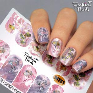 Слайдер FashionNails Фэшн  Металлик М251