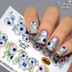 Слайдер FashionNails Фэшн  Металлик М252