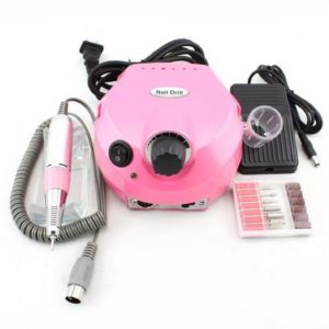 Аппарат для маникюра Nail Drill DM-202 (65 Вт, 35000 об.), розовый