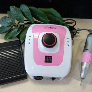 Аппарат для маникюра Soline LX-206 (35 Вт, 35000 об.), розовый