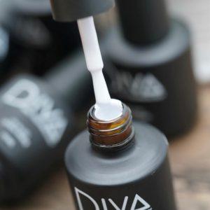 Гель-лак Diva (Дива), ультра белый 15 мл