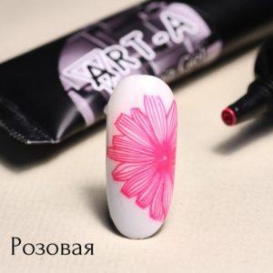 Гель-паста для стемпинга АртА, 03 розовая