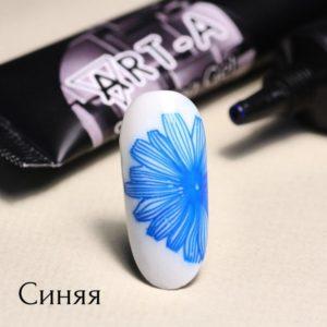 Гель-паста для стемпинга АртА, 05 синяя