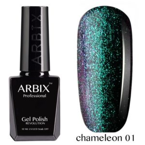 Гель-лак ARBIX Арбикс хамелеон №1