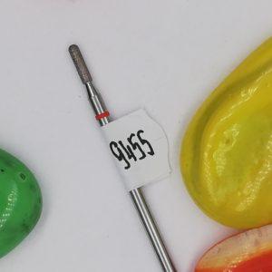 Алмазная фреза, брусок 1,8 мм, красная (Россия)