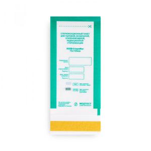 Крафт-пакеты Медтест, 75*150 мм, комбинированные прозрачные (100 шт)