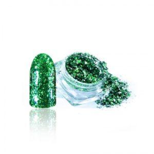 Алмазные хлопья Ингарден, 014 зеленый
