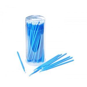 Микробраши в баночке 2,5 мм, 100 шт (синие)