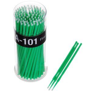 Микробраши в баночке 3 мм, 100 шт (зеленые)