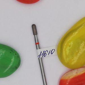 Алмазная фреза, брусок 2,7 мм, красная (Россия)