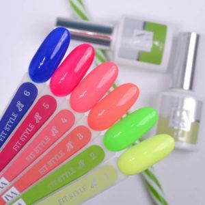 Гель лак IVA Nails Ива Fit Style FS-3, 8 мл