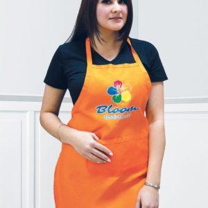 Фартук мастера Блум, оранжевый