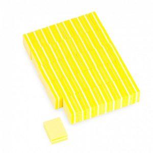 Баф-мини Divinail желтый, 100/180 50 шт