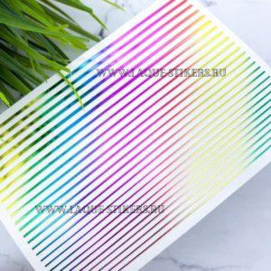 Гибкие полоски для дизайна, радужные голографик