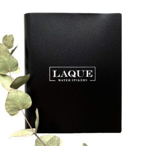 Альбом для слайдеров LAQUE Лакью (160 карманов), черный