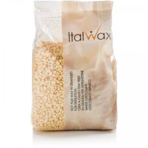 Воск горячий пленочный ITALWAX Белый шоколад, гранулы 1000 гр