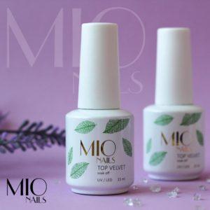 Матовое покрытие топ Velvet Мио MIO nails, 15 мл