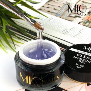 Гель средней вязкости Мио MIO nails прозрачный CLEAR, 15 гр