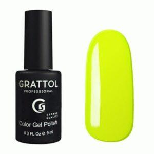 Гель-лак Grattol №036 Лимон, 9 мл
