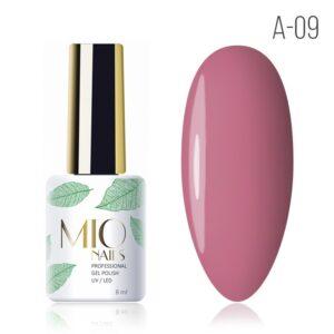 Гель-лак MIO nails A-09 наслаждение, 8 мл