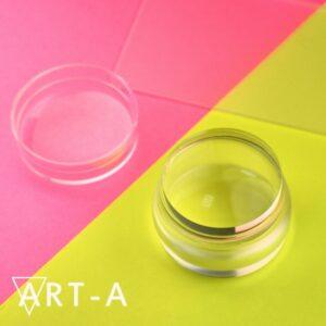Штамп АртА мини 3,5 см+скрапер