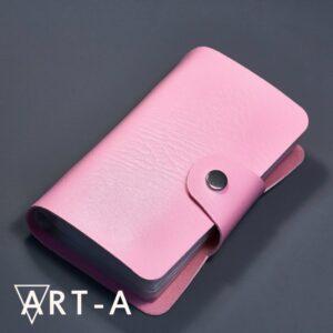 Блокнот АртА для пластин 12*6 см, розовый