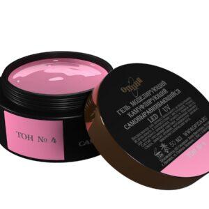 Гель моделирующий Опция №4 темно-розовый (холодный), 50 мл