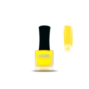 Краска для стемпинга Саннэйл, желтый неон