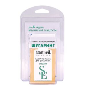 Набор для шугаринга Start Epil сахарная паста в картридже Средняя+6 полосок