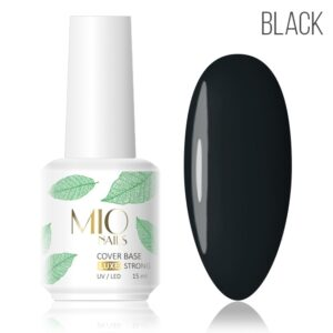 Камуфлирующая база Strong Мио MIO nails LUXE черная, 15 мл
