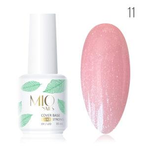 Камуфлирующая база SHIMMER Мио MIO nails №11, 15 мл