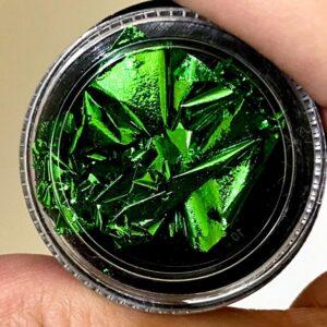 Фольга жатая поталь, зеленый 3229