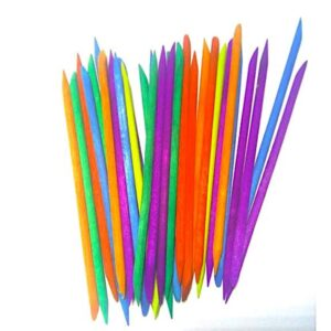 Апельсиновые палочки цветные, 100 штук