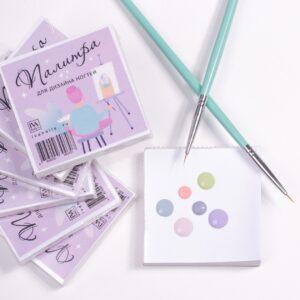 Поли-палитра для дизайна ногтей Iva Nails (Ива Нейлс) 60*60, 100 листов
