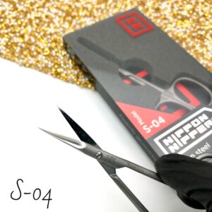 Ножницы для кутикулы Nippon Nippers S-04 (100 мм), изогнутые