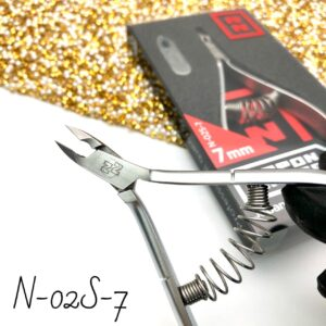 Кусачки для кутикулы Nippon Nippers N-02S-7, 7 мм (спираль)