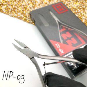 Кусачки для педикюра Nippon Nippers NP-03, 9 мм (двойная пружина)