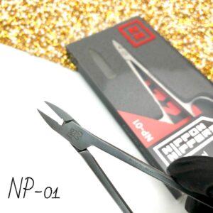 Кусачки для педикюра Глазки Nippon Nippers NP-01, 9 мм (лезвие без пятки)