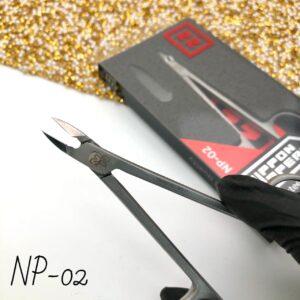 Кусачки для педикюра Глазки Nippon Nippers NP-02, 9 мм (лезвие с пяткой)