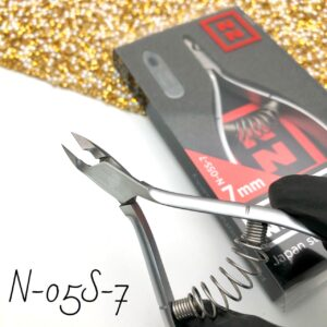 Кусачки для кутикулы Nippon Nippers N-05S-7, 7 мм (спираль)