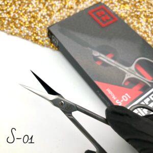 Ножницы для кутикулы Nippon Nippers S-01 (96 мм), изогнутые