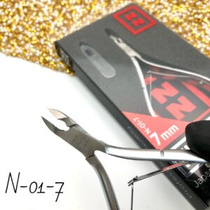 Кусачки для кутикулы Nippon Nippers N-01-7, 7 мм (двойная пружина)