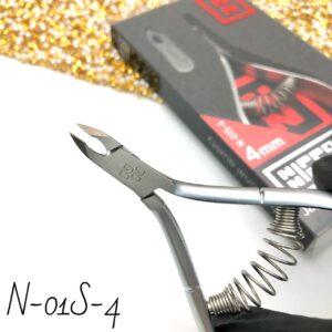 Кусачки для кутикулы Nippon Nippers N-01S-4, 4 мм (спираль)