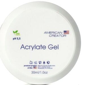 Acrylate gel American Creator (акригель прозрачный), 30 мл