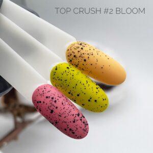 Матовый топ Bloom Crush Блум Краш №2, 15 мл